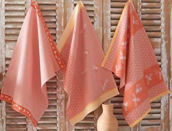 Les torchons et serviettes Linvosges